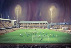 Derby County 20'' x 30'' approx poster print